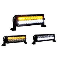"10"" Led Light Bar Aurora Fog Spot Flood Light with Wire Harness Antitheft Nuts"
