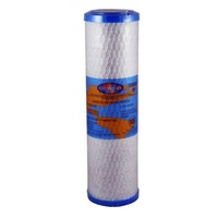 "Carbon Blocker Water Cartridge 10"" x 2.5  1uM Omnipure USA Carbon Filter"