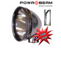 "Powabeam 70w PRO-9 HID Plus Window Mounted Remote , Powa Beam 9"" Hunting Light"