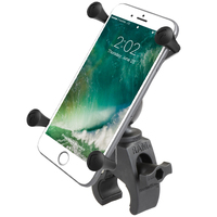 RAM-HOL-UN10-400U - RAM X-Grip Large Phone Mount with Low Profile RAM Tough-Claw Base